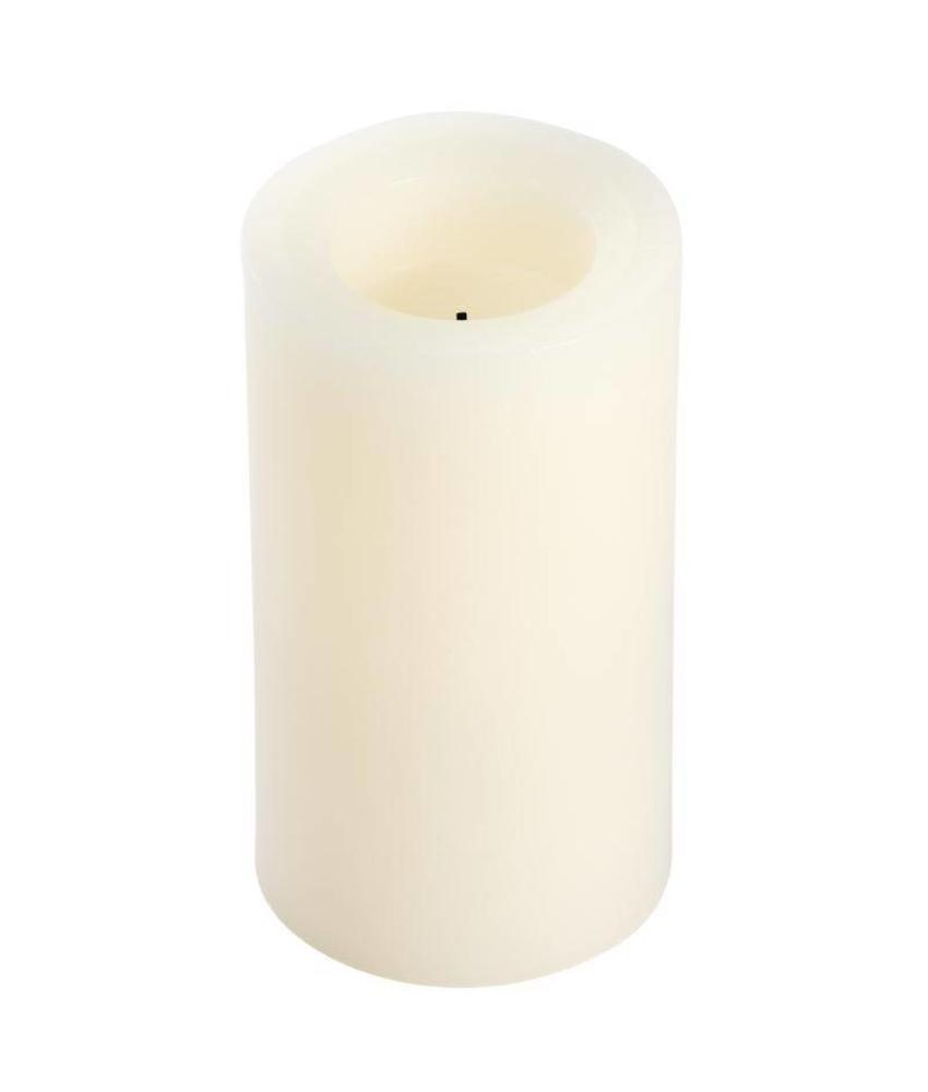 Candle Impressions Vlamloze waskaars champagne 15cm