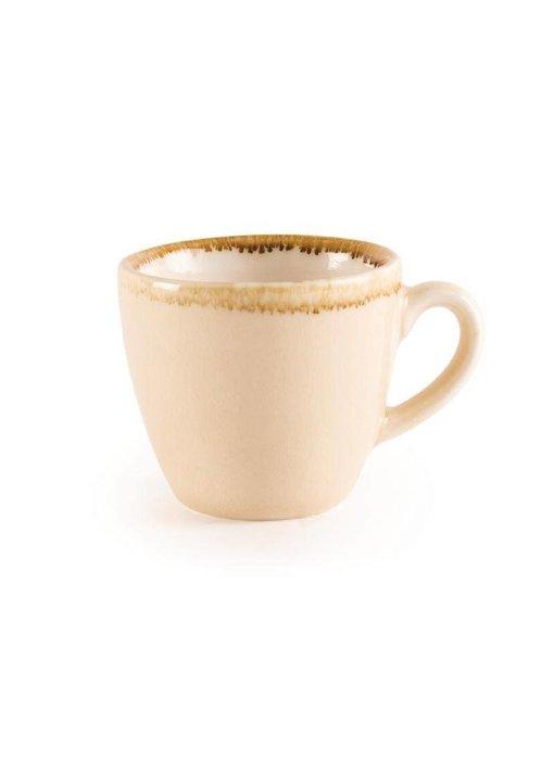 Olympia Olympia Kiln espressokopjes zandsteen 8,5cl 6 stuks