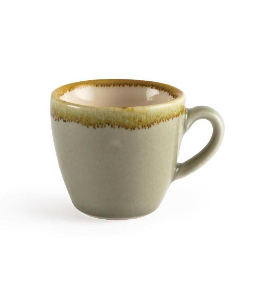 Olympia Olympia Kiln espressokopjes mosgroen 8,5cl 6 stuks