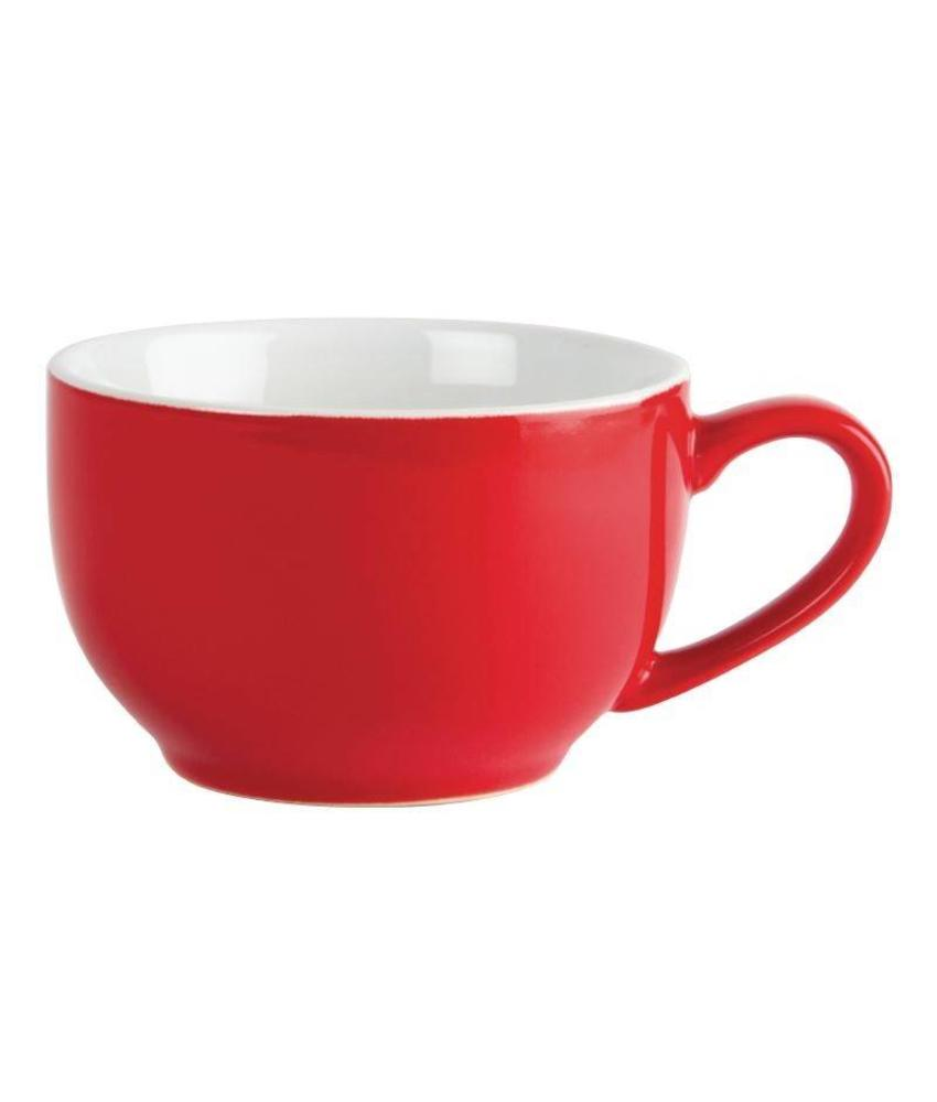 Olympia Olympia koffie kop rood 23cl 12 stuks
