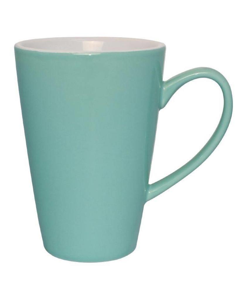 Olympia Olympia latte beker aqua 34cl 12 stuks