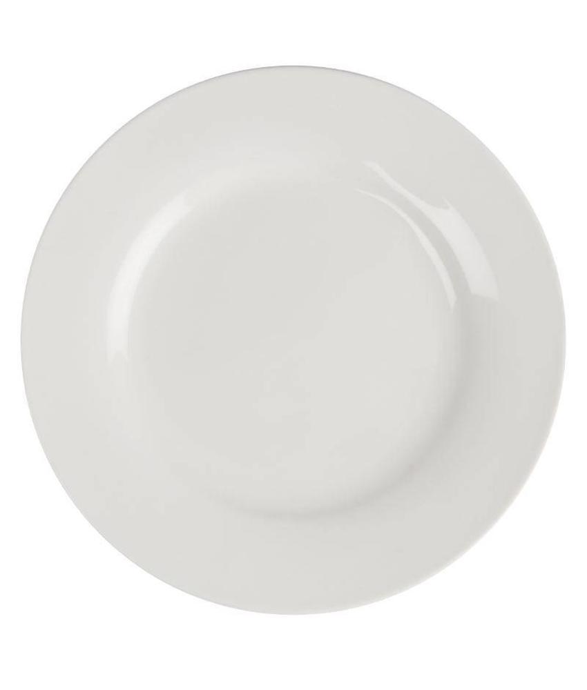 LUMINA Lumina borden met brede rand 23cm 6 stuks