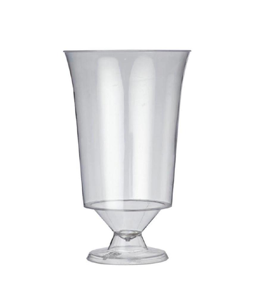 Plastico Plastico disposable wijnglazen 18cl 10 stuks