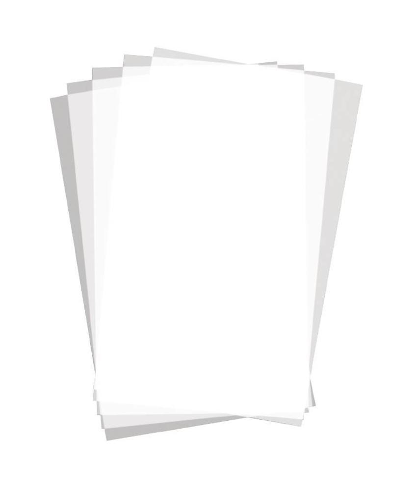 gastronoble Vetvrij papier zonder opdruk 25,5x40,6cm (500 vel) 500 stuks