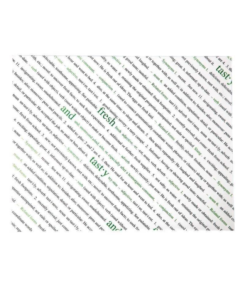 Fresh & Tasty vetvrij papier 500 stuks