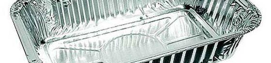 Aluminium afhaalbakjes