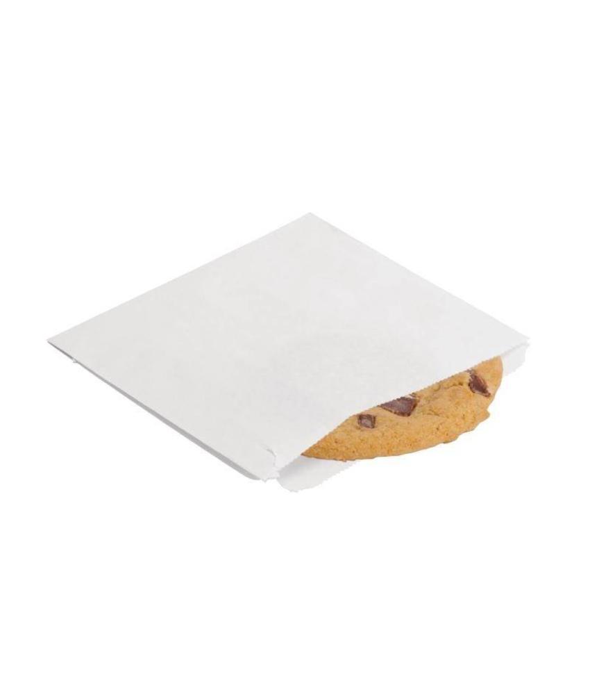 Papieren zakjes wit 1000 stuks