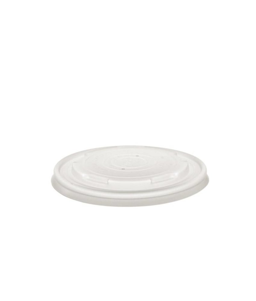VEGWARE Vegware biologisch afbreekbare deksels voor GF046 en GF047 bakjes 500 stuks
