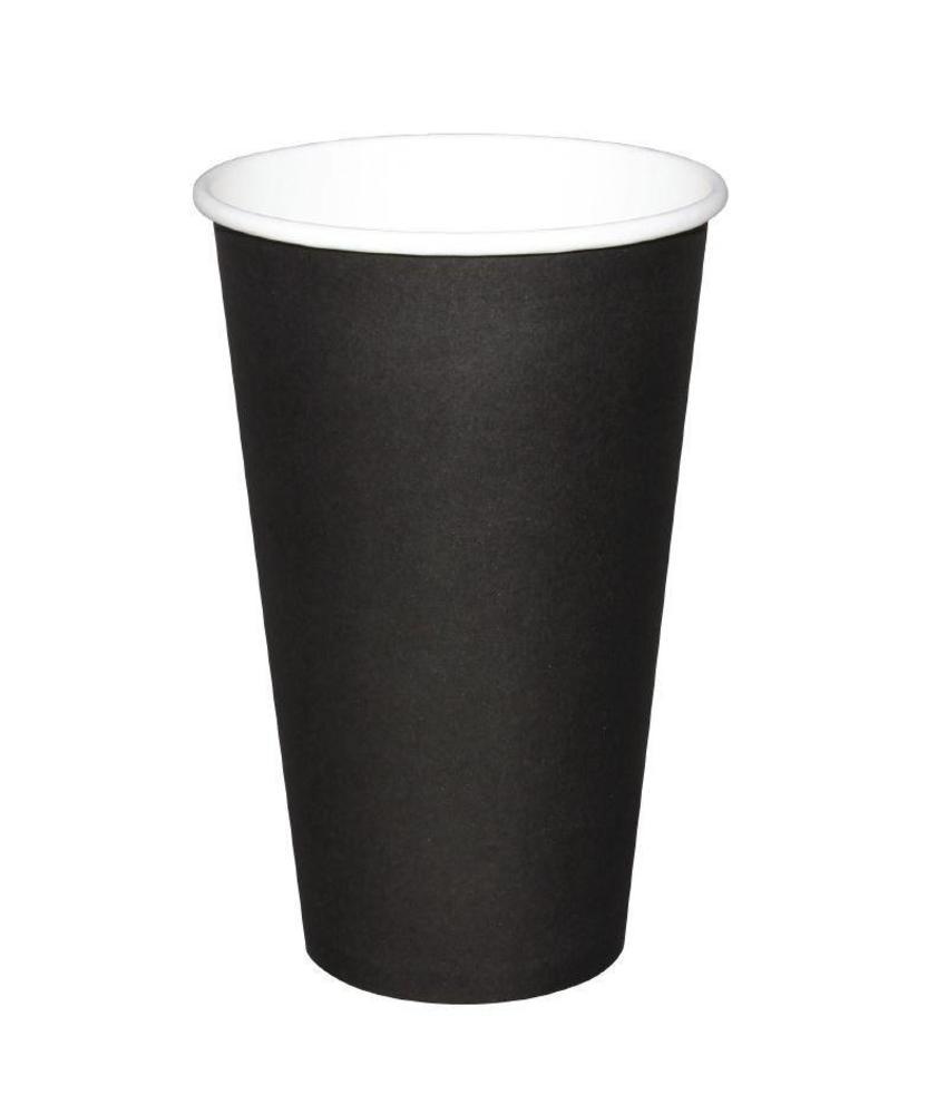 Fiesta Fiesta Hot Cups enkelwandig zwart 23cl x50 50 stuks