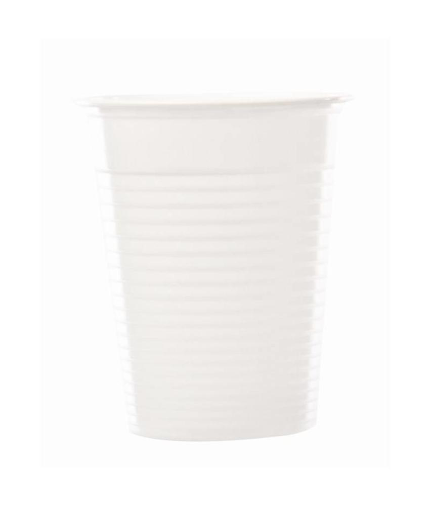 Disposable waterglazen wit 20cl 2000 stuks