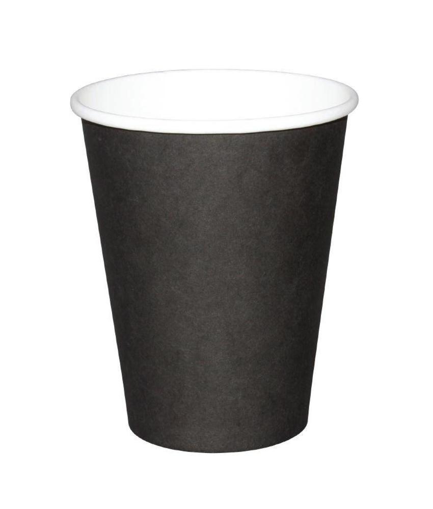Fiesta Fiesta Hot Cups enkelwandig zwart 34cl x50 50 stuks