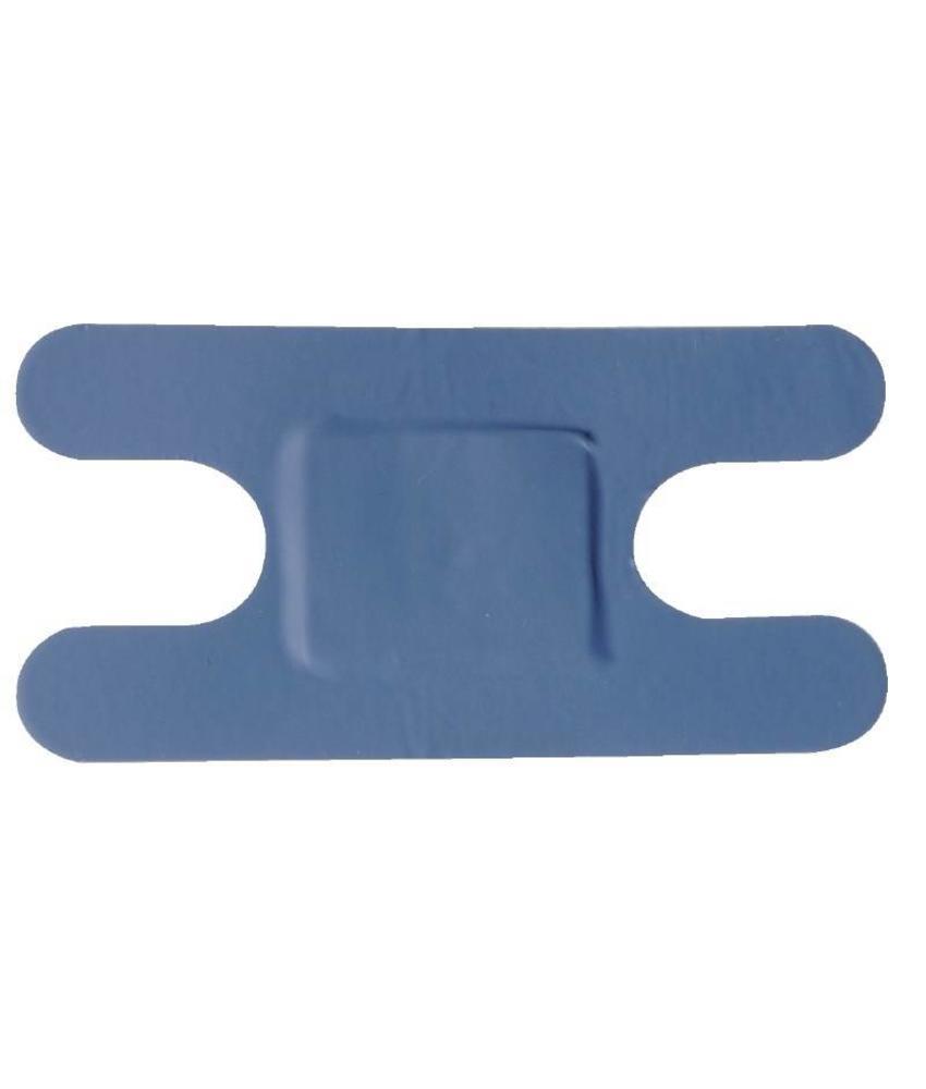 Blauwe pleisters assorti 100 stuks