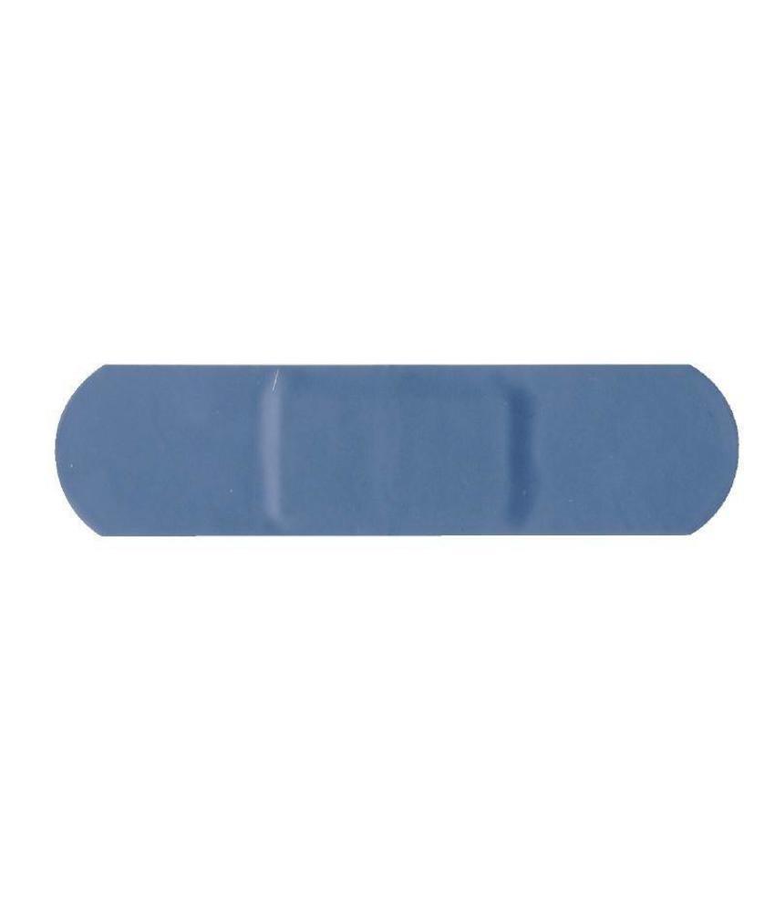 Blauwe standaard pleisters 100 stuks