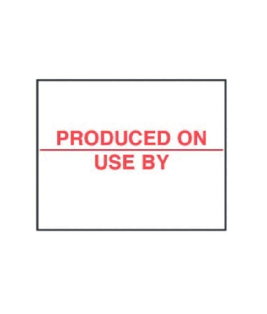 Houdbaarheidsetiketten 20 x 16mm 14000 stuks