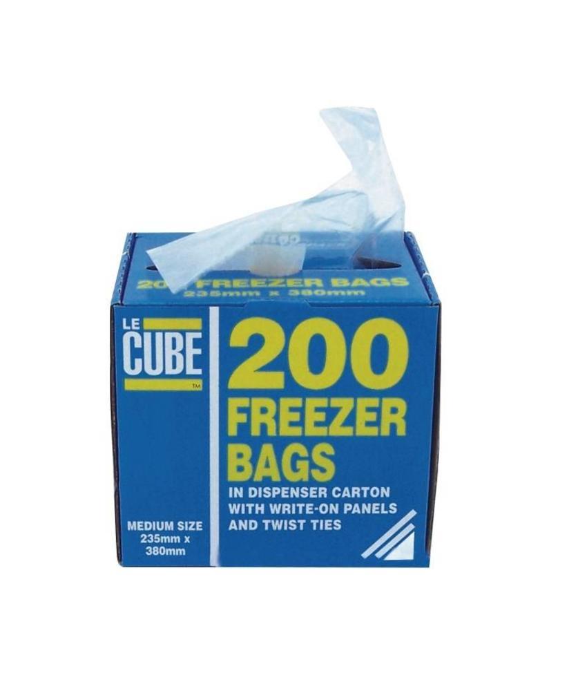 le cube Diepvrieszakken 200 stuks