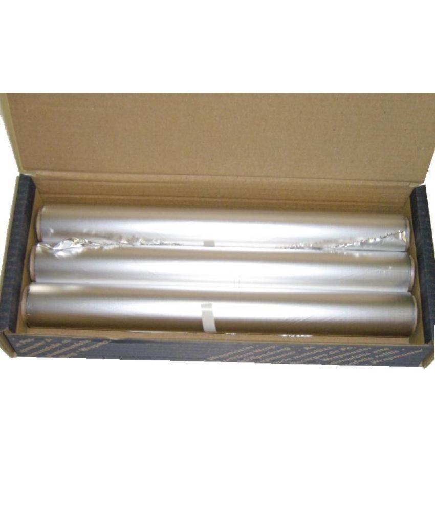 Wrapmaster aluminiumfolie 30cm x 100m 3 stuks