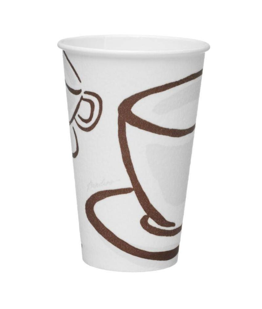 Benders Paper Cups Milano Barrier hot cup 45cl 560 stuks