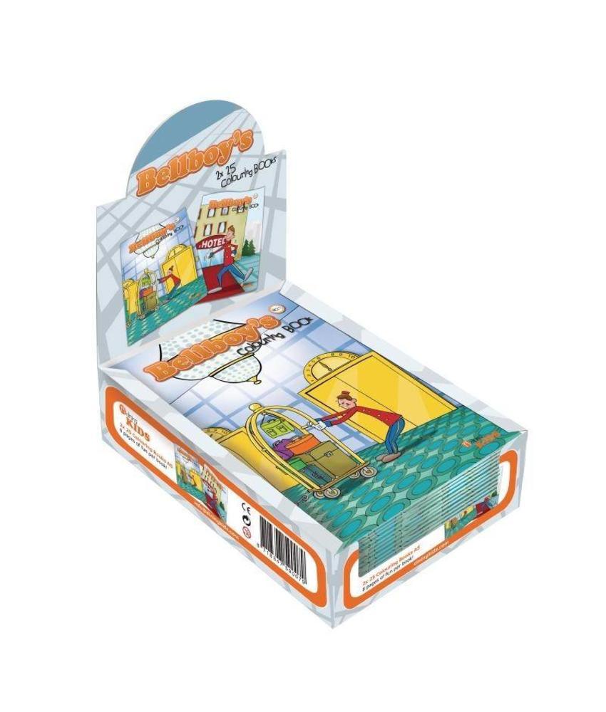 Dining Kids Dining Kids kleurboeken hotelportier 50 stuks