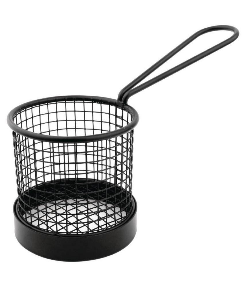 Olympia Olympia zwart fritesmandje met handvat
