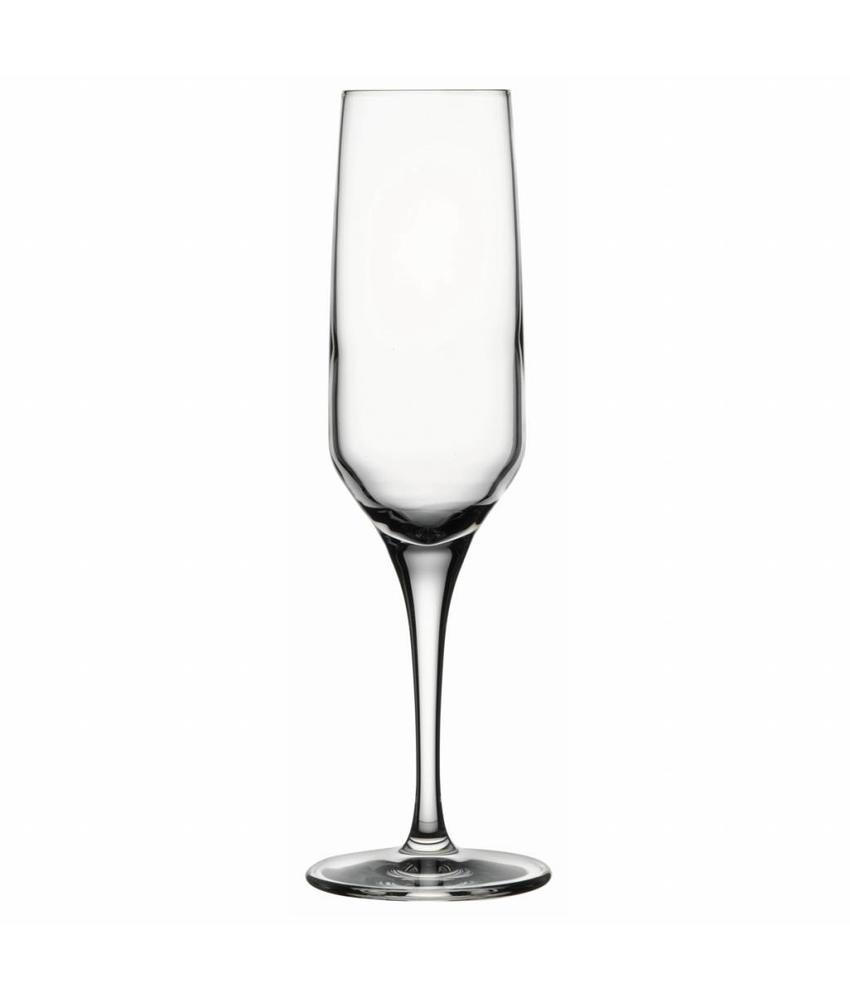 Nude Fame champagneglas 210 ml 6 stuks