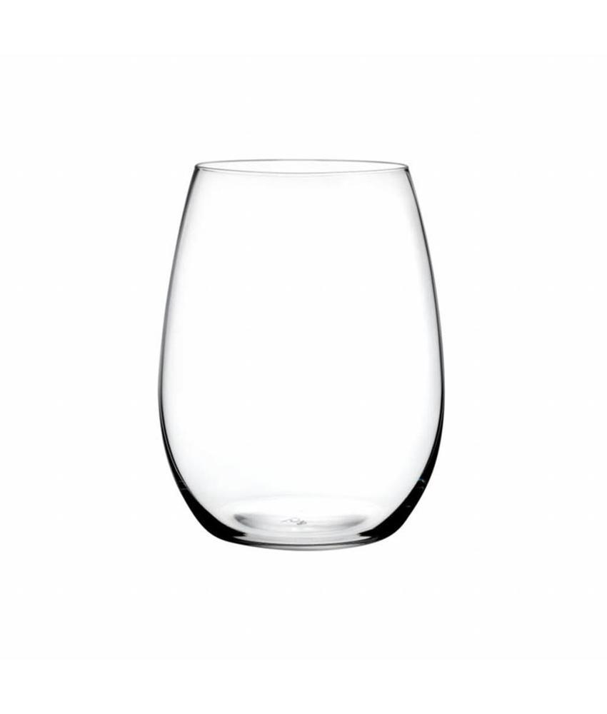 Nude Crystalline Pure bordeaux glas 610 ml ( 6 stuks)