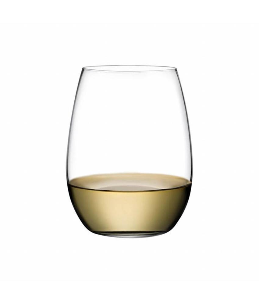 Nude Pure witte wijnglas 370 ml 6 stuks