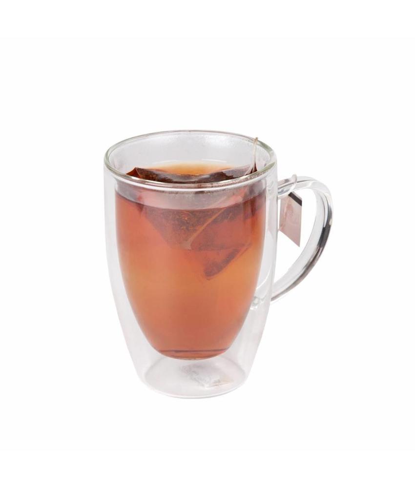 Coffeepoint Theeglas dubbelwandig 200 ml ( 6 stuks)