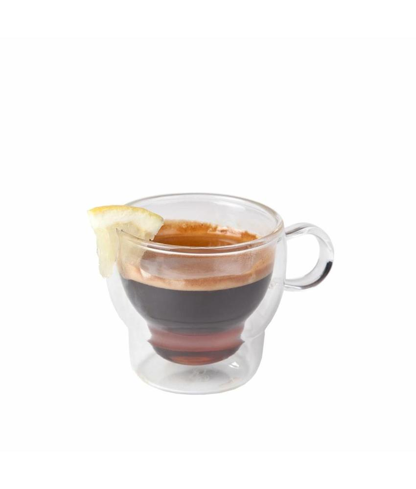 Coffeepoint Koffie-theeglas dubbelwandig 230 ml ( 6 stuks)