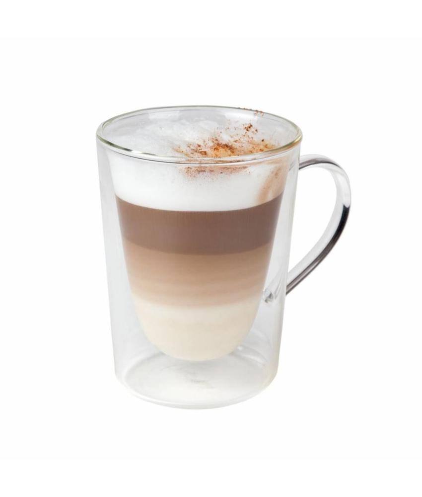 Coffeepoint Macchiatoglas dubbelwandig 290 ml ( 6 stuks)