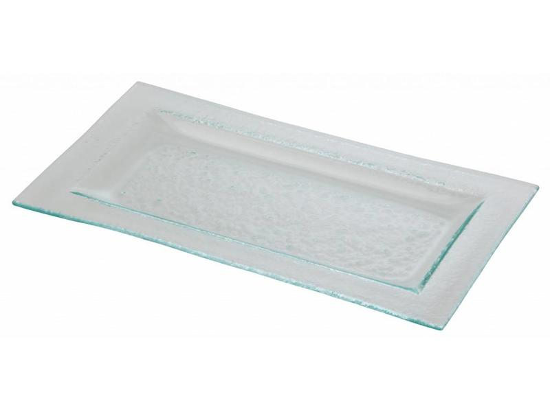 Stylepoint Glasbord rechthoek met rand 33 x 18 cm 6 stuk(s)