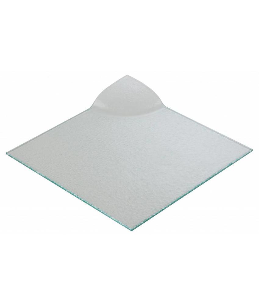 Stylepoint Glasbord vierkant presentatie 26 cm 6 stuk(s)