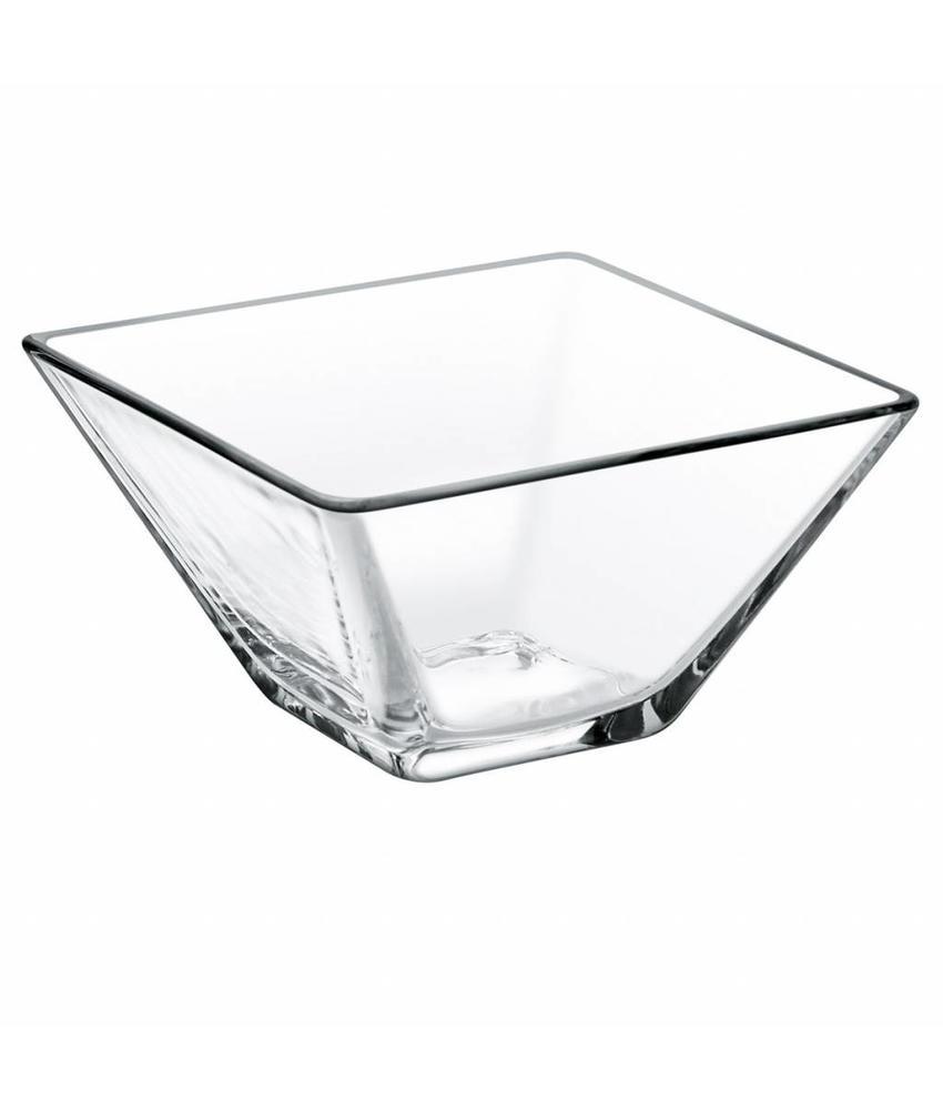Stylepoint Glazen kom vierkant 8 cm 24 stuks