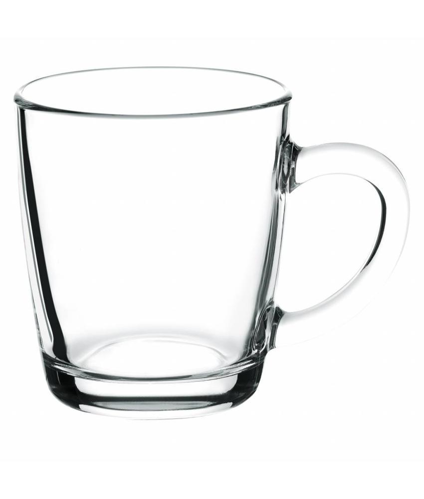 Coffeepoint Thee- & koffie glas (gehard) 340 ml ( 12 stuks)