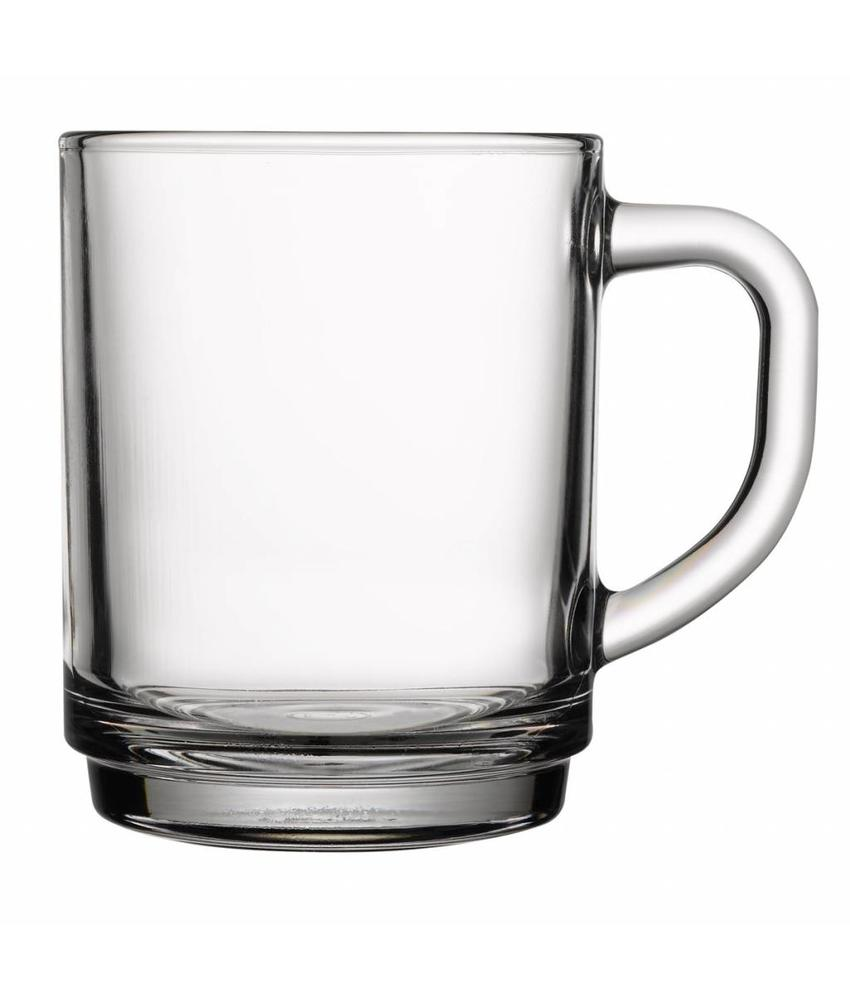 Coffeepoint Thee- & koffie glas (gehard) 255 ml ( 12 stuks)