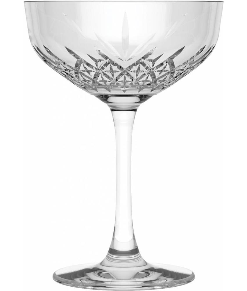 Stylepoint Timeless Champagne/Martini glas 270 ml ( 12 stuks)
