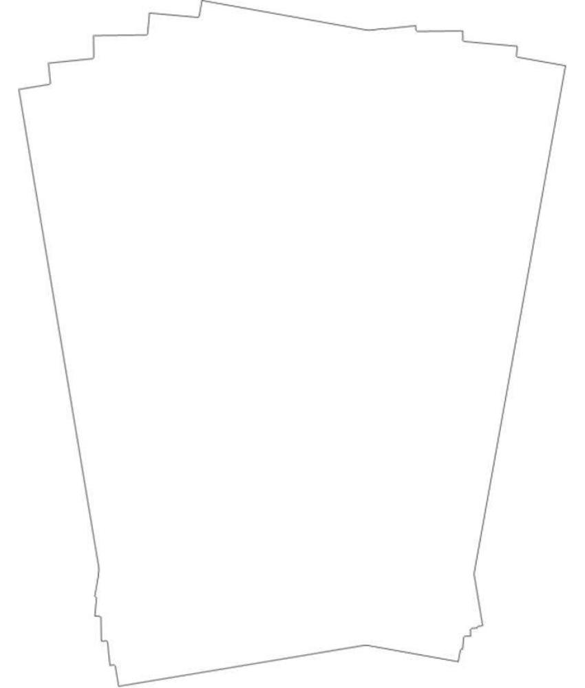 Stylepoint Vetvrij papier onbedrukt 25,5 x 20,3 cm 500st 1 stuk(s)