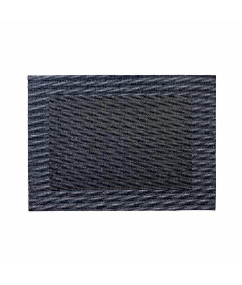 Stylepoint Placemat rechthoekig donkerblauw 45 x 33 cm 24 stuk(s)