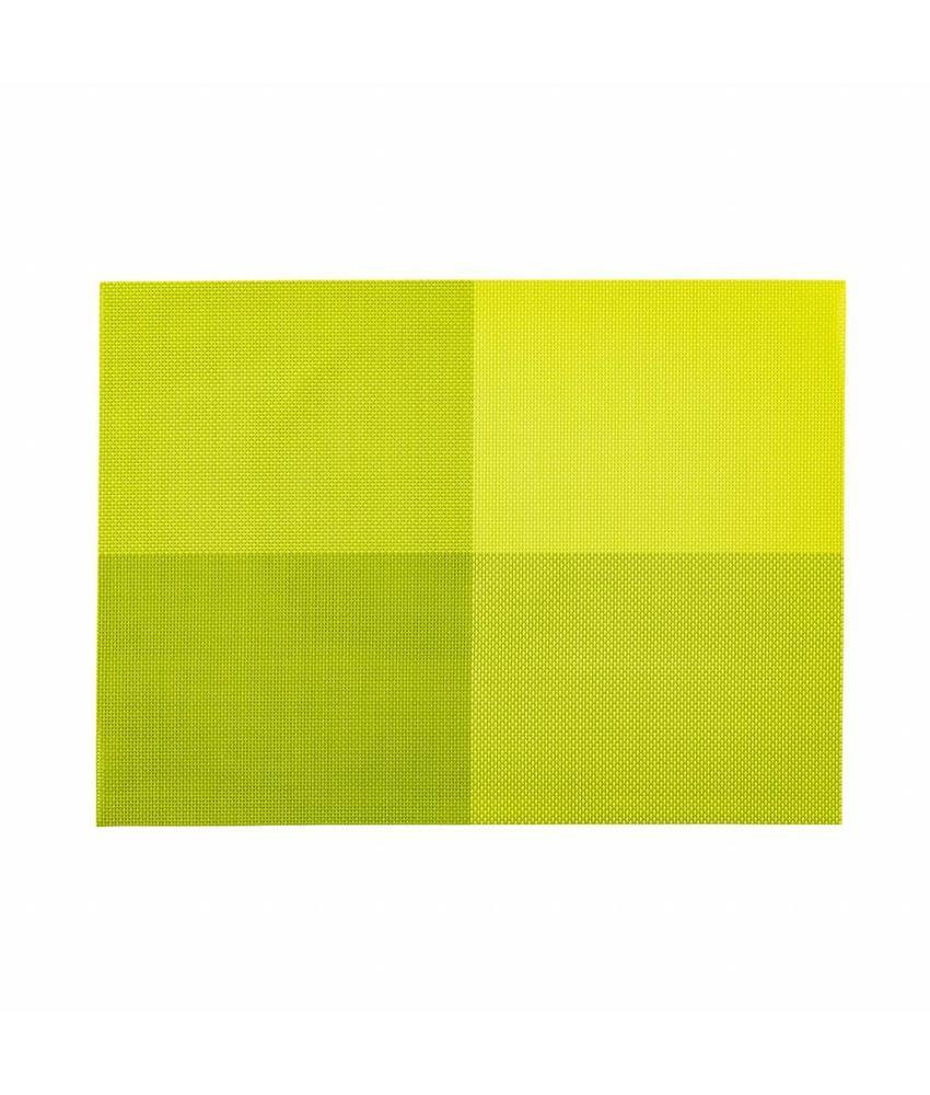 Stylepoint Placemat rechthoekig Groen 45 x 33 cm 24 stuk(s)