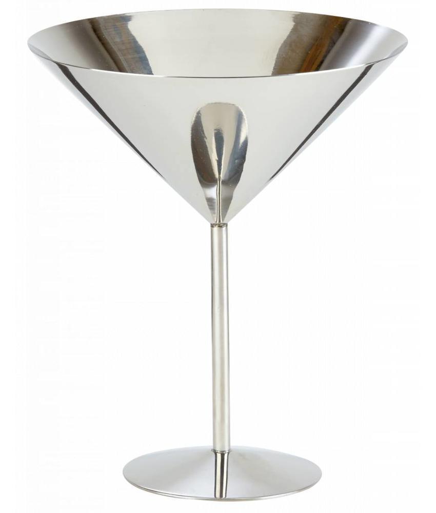 Stylepoint RVS martini glas hoge voet 520 ml