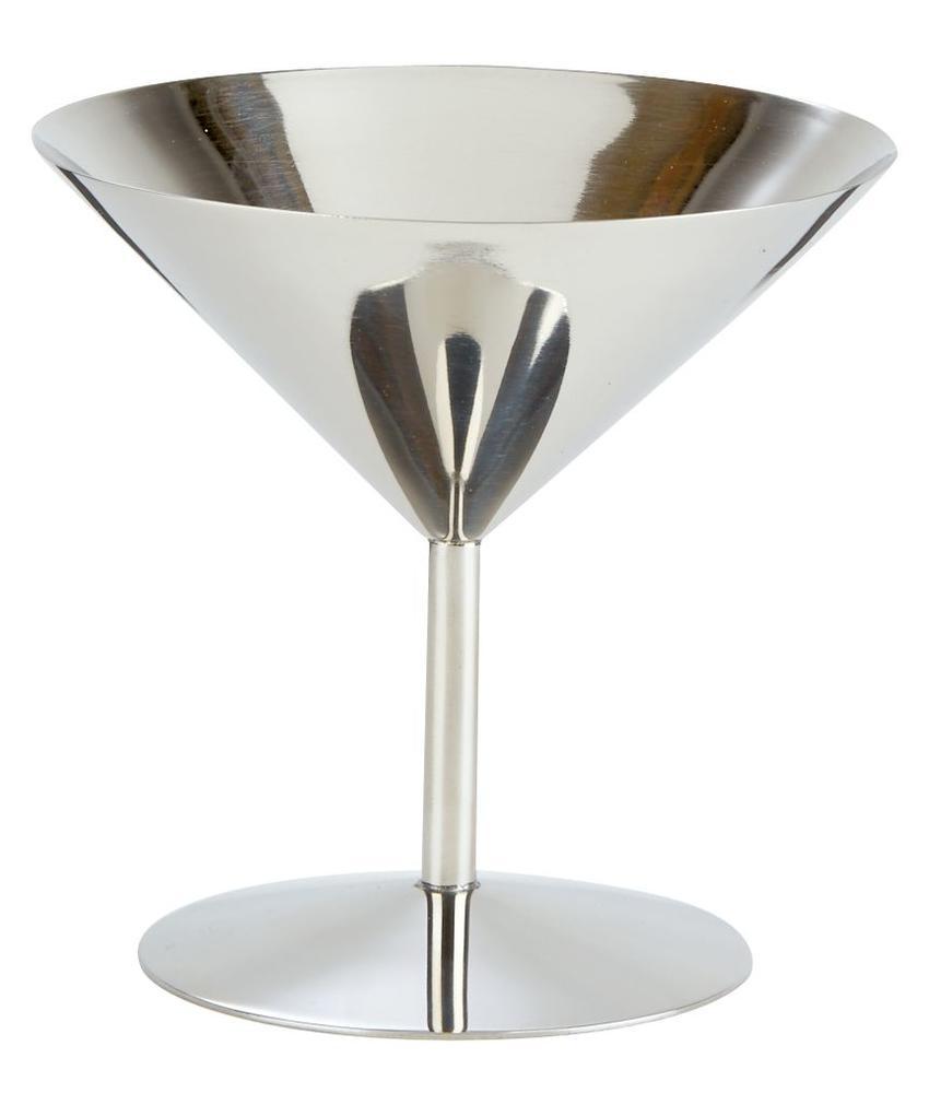 Stylepoint RVS martini glas lage voet 220 ml 1 stuk(s)