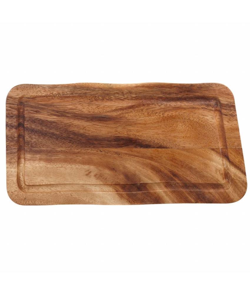 Stylepoint Rechthoekige plank met gleuf 30 x 15 x 2 cm