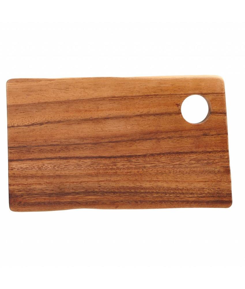 Stylepoint Rechthoekige plank met gat 25 x 14 x 2 cm