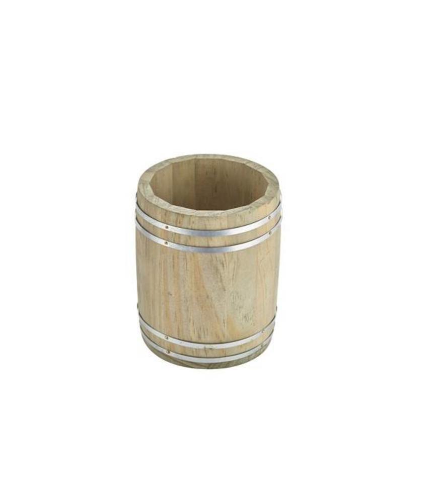 Stylepoint Houten vat 11,5 x 13,5 cm
