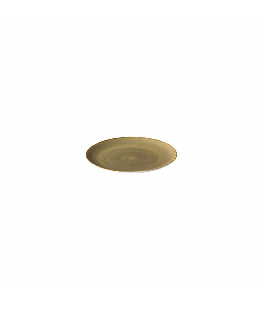 Q Authentic Sand Coupe bord reactive sand 15,5 cm 6 stuks