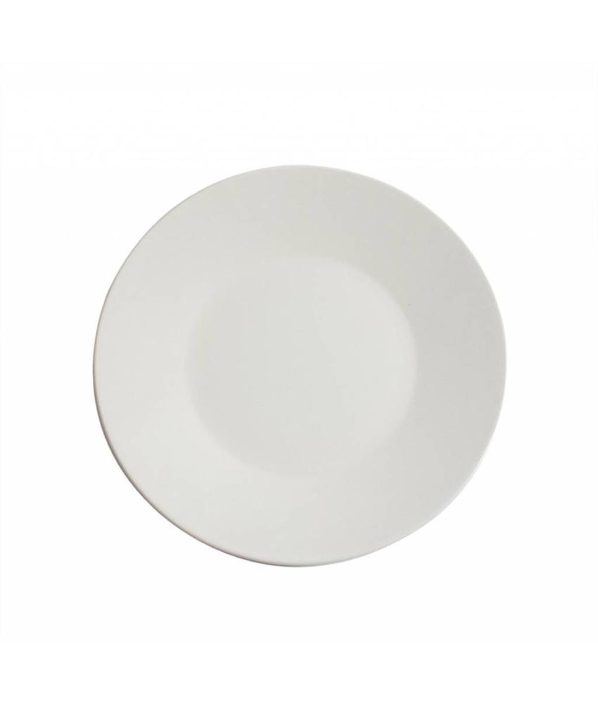 Stylepoint Aardewerk bord rond mat wit 27,5 cm 12 stuk(s)