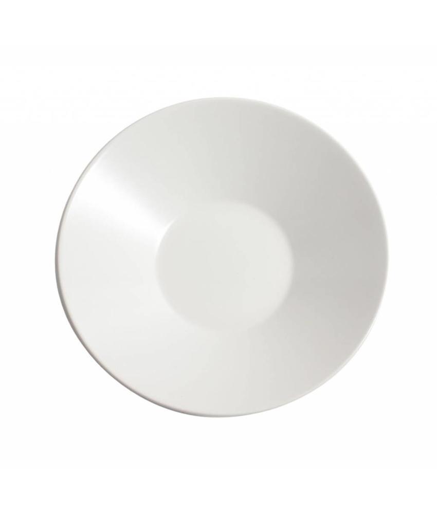 Stylepoint Aardewerk soepbord mat wit 23 cm 12 stuk(s)