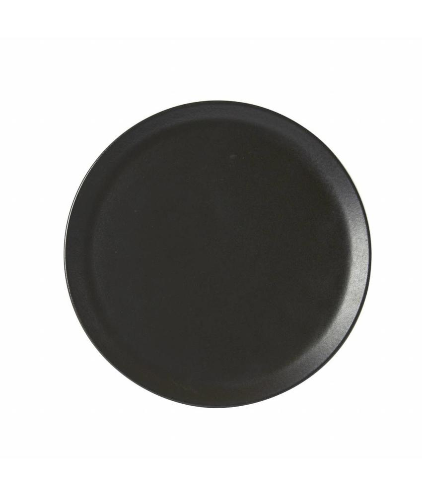Porcelite Seasons  Graphite Pizza bord Graphite 32 cm 6 stuks