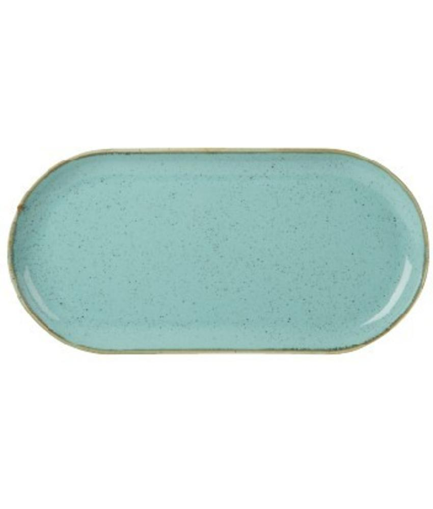 Porcelite Seasons Sea Spray Smal ovaal bord 30 cm ( 6 stuks)