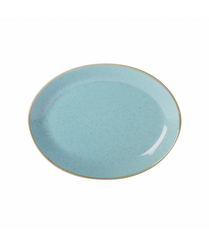 Porcelite Seasons Sea Spray Ovaal bord  30,5 cm ( 6 stuks)