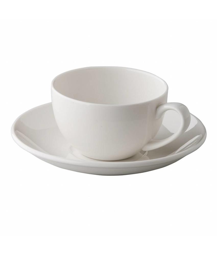 Q Fine China Alles-in-een QFC klassieke koffiekop 180 ml 6 stuks
